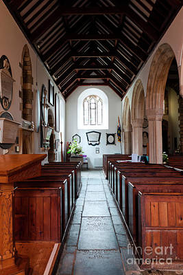 Photograph - South Aisle Of St Mylor by Terri Waters