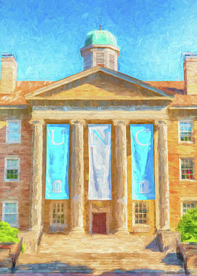 Valentines Day - South Building - UNC #3 by Stephen Stookey