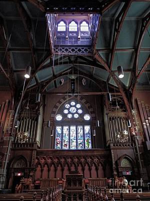 Photograph - South Church, Boston by Marcia Lee Jones