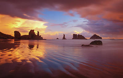 Photograph - South Coast Sunset by Darren White
