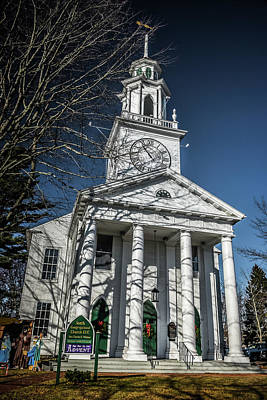 Photograph - South Congregational Church by Guy Whiteley