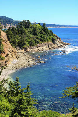 Photograph - South Cove 3, Cape Arago, Oregon by Dawn Richards
