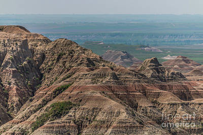 Photograph - South Dakota Badlands by Sheila Skogen