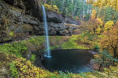 Photograph - South Falls Autumn by Matthew Irvin