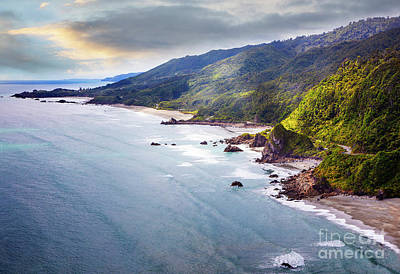 Photograph - South Island Coast by Scott Kemper