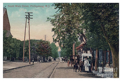Photograph - South Main Street Phillipsburg N J by Mark Miller
