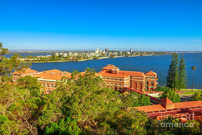 Photograph - South Perth Aerial by Benny Marty