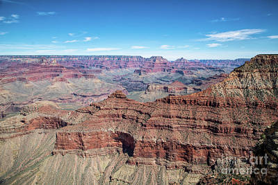 Photograph - South Rim View by Ed Taylor