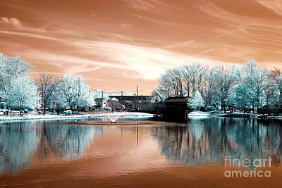 Photograph - South River Colors Infrared by John Rizzuto