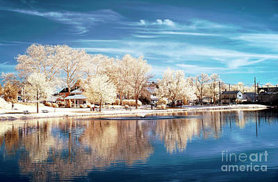 Photograph - South River Infrared by John Rizzuto