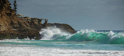 Photograph - South Swell South Laguna by Cliff Wassmann