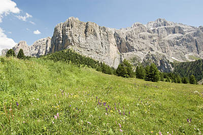 Photograph - South Tyrol Mountain Range by Hiphunter
