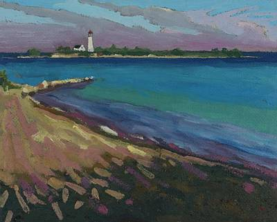 Painting - Southampton Gerry And Chantry Light by Phil Chadwick