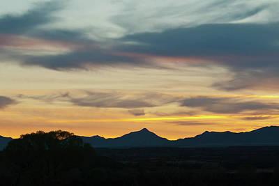Photograph - Southeast Arizona Sunset by Cascade Colors