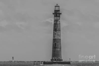 Photograph - Southern Lighthouse View -  Charleston South Carolina by Dale Powell