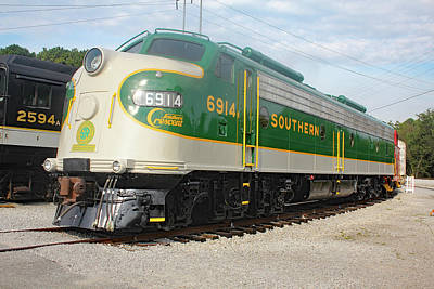 Photograph - Southern Railway 6914 A by Joseph C Hinson Photography