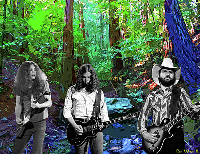 Photograph - Southern Rock Jam On Tam #1 by Ben Upham