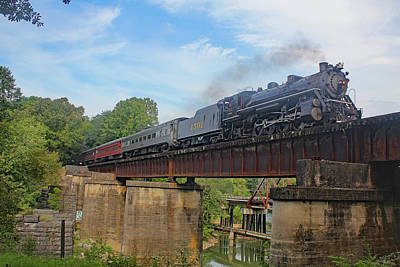 Photograph - Southern Steam 4501 A by Joseph C Hinson Photography