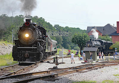 Photograph - Southern Steam 4501 B by Joseph C Hinson Photography