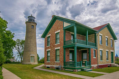 Photograph - Southport Lighthouse  by Matthew Irvin