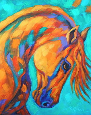 Wall Art - Painting - Southwest Sun Dance by Theresa Paden