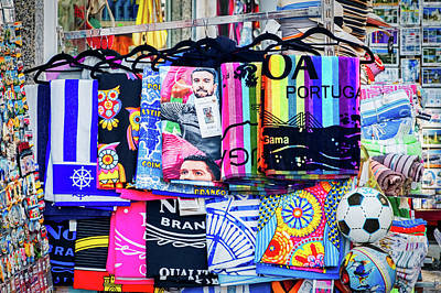 Photograph - Souvenir Store Display - Portugal by Stuart Litoff