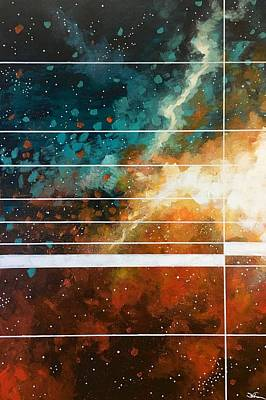 Painting - Space Time Continuum IIi by Joel Tesch