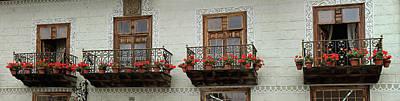 Balcony Photograph - Spanish Balconies by Images Etc Ltd