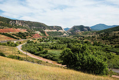 Photograph - Spanish Fork River Park by Tom Cochran