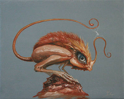 Painting - Sparky by Ed Schaap