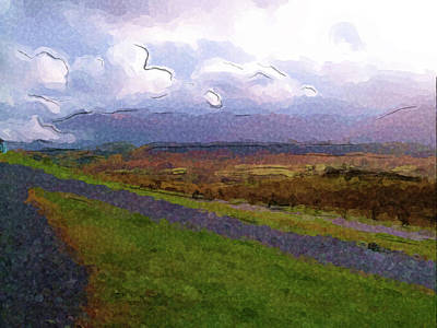 Digital Art - Spean Bridge Painting by JLowPhotos