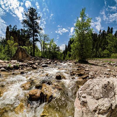 Photograph - Spearfish Creek and Canyon, South Dakota by Art Whitton
