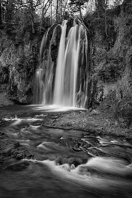 Photograph - Spearfish Falls by Denise Bush