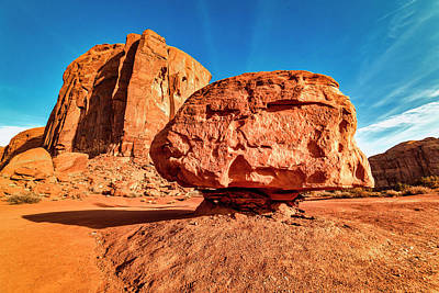 Photograph - Spearhead Mesa's Balancing Rock by Andy Crawford
