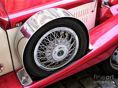 Photograph - Special Edition Vintage Car In Prague by John Rizzuto