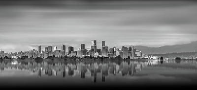 Special View Of Downtown Vancouver Art Print