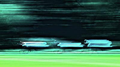 Photograph - Speed by Jorg Becker