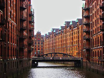 Photograph - Speicherstadt, Hamburg, Germany by Ferry Vermeer
