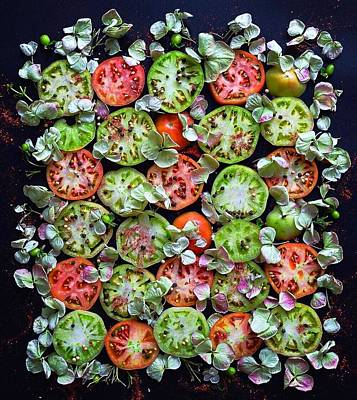 Photograph - Spiced Tomatoes by Sarah Phillips