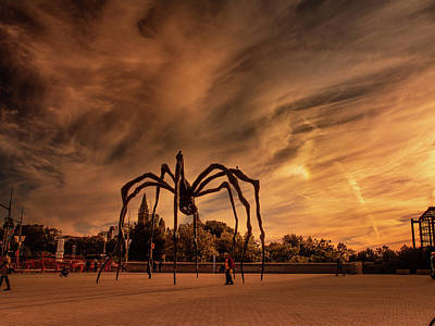 Photograph - Spider Maman - Ottawa by Juan Contreras