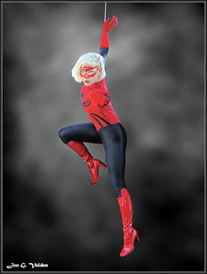 Photograph - Spider Woman Unbound by Jon Volden