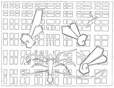 Digital Art - Spiders Web Gridismjr Bandw by Artist Dot