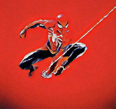 Painting - Spidey by Dan Sproul