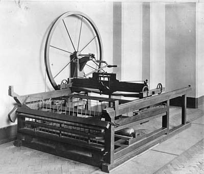 Spinning Jenny Art Print by Hulton Archive