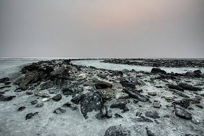 Photograph - Spiral Jetty Crop Smoke Sky by David Andersen
