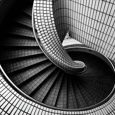 Photograph - Spiral Staircase by Baona