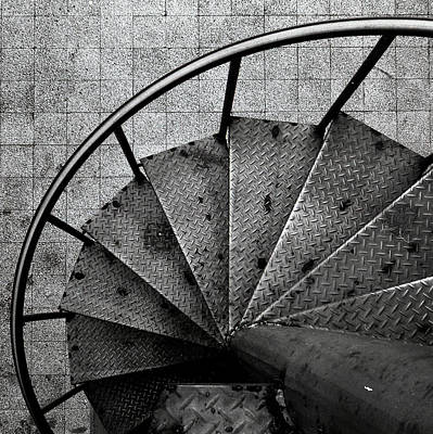 Photograph - Spiral Staircase by Photography By Bert.design