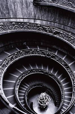 Photograph - Spiral Stairway by Teruyuki Yoshimura
