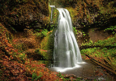 Photograph - Spirit Falls Horizontal by Lara Ellis
