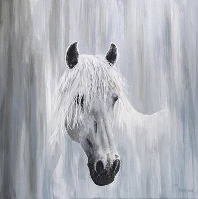 Wall Art - Painting - Spirit In The Mist by Mary Arneson